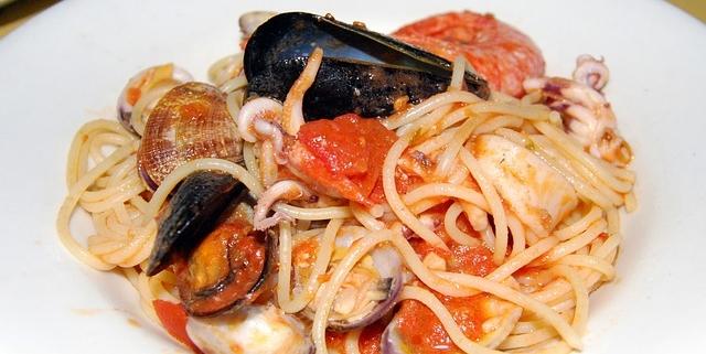 ricetta di spaghetti allo scoglio