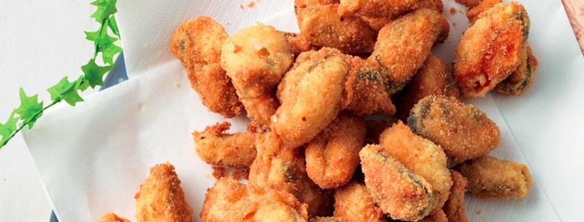 Cozze fritte ricetta