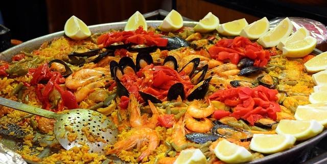Paella fatta in casa