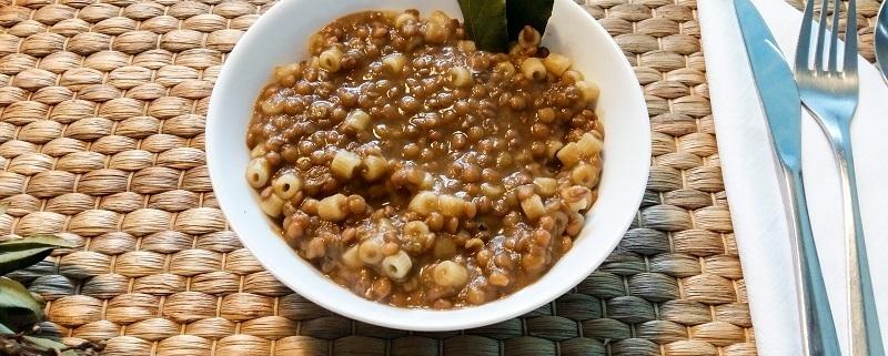 Pasta e lenticchie ricetta