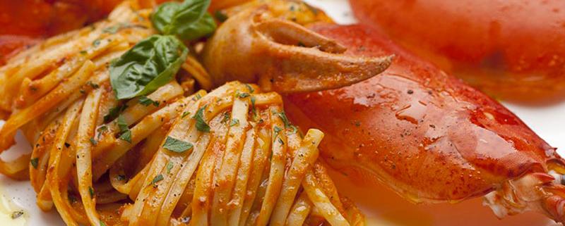Spaghetti con l'astice
