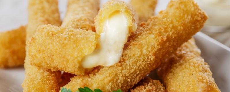 mozzarella stick ricetta